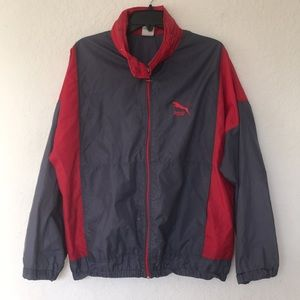 Men Puma Windbreaker jacket size M